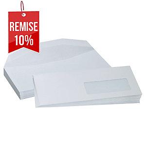 Enveloppe mécanisable 114 x 229 - 80 g - fenêtre 45 x 100 - par 1000