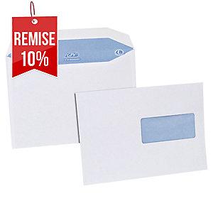Enveloppe mécanisable 162 x 229 - 80 g - fenêtre 45 x 100 - par 500