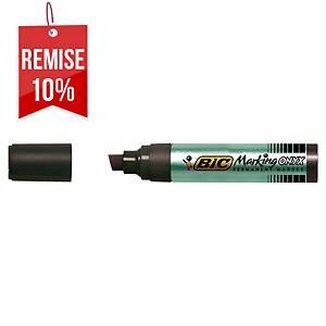 Marqueur permanent Bic Onyx Marker 1891 - pointe biseautée 9 à 17 mm - noir