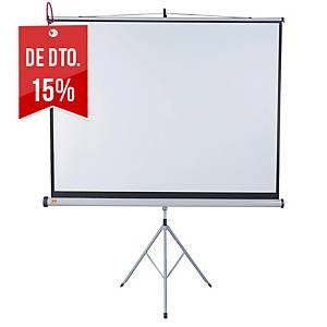 Ecrã de projeção Nobo Professional com tripé - 175 x133 cm - formato 4:3