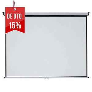 Ecrã de projeção mural Nobo Professionnal - 200 x151 cm - formato 4:3