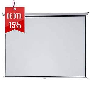 Ecrã de projeção mural Nobo Professionnal - 240 x 181 cm - formato 4:3