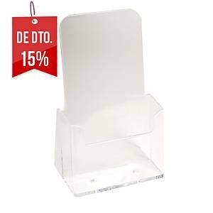 Expositor de secretária Exacompta - 1/3 de A4 - 1 compartimento - transparente