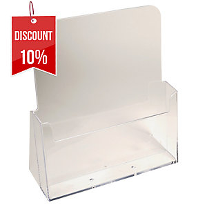 Exacompta Monobloc Counter Display, 235X85X247mm, A4, 1 Pocket