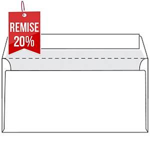 Enveloppe Premium recyclée 110 x 220 - 90 g - siliconée - par 500