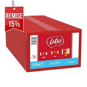 Assortiment de biscuits Lotus luxe assorti - coffret de 1.443 kg