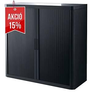 Paperflow multifunkciós szekrény, fekete/fekete