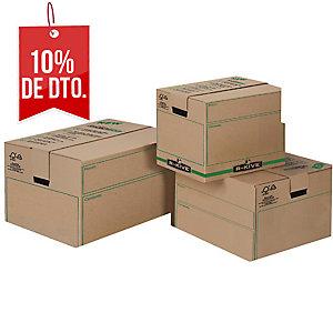 Pack de 5 cajas de embalaje FELLOWES Maxi de 457 x 457 x 609 mm