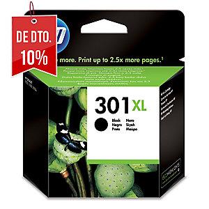 Tinteiro HP 301XL preto alta capacidade CH563EE para DeskJet 1050/2050