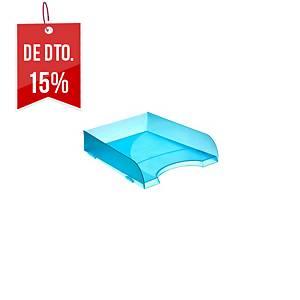 Tabuleiro de secretária Archivo 2000 745-TL - poliestireno - azul