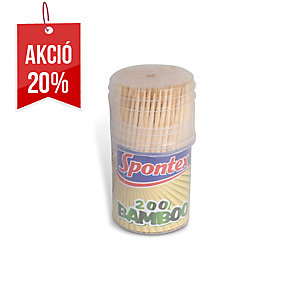 Söke bambusz fogpiszkálók, 200 darab/csomag