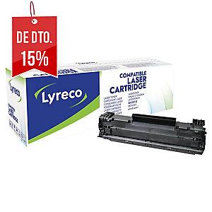 Toner laser LYRECO preto compativel com HP 85A LJ-1102w e M1212/1132 MFP