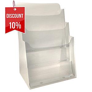Exacompta Monobloc Counter Display, 155X237X339mm, A4, 1 Pocket