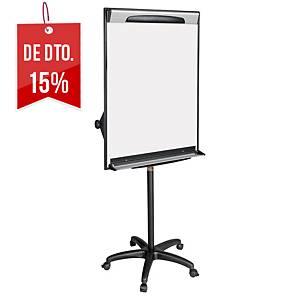 Quadro magnético com cavalete e rodas Bi-Office - 1000 x 700 mm