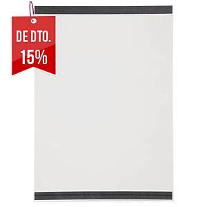 Pack de 2 capas Durable - magnéticas - A4 - transparentes