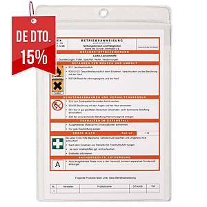 Pack de 10 capas Durable - 210x297 mm - transparente