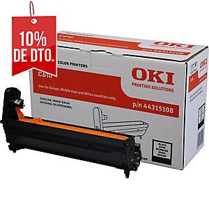 Tambor láser OKI negro 44315108 para Serie C-610