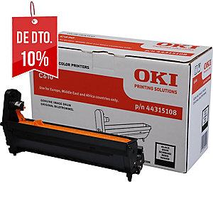 Tambor laser OKI preto 44315108 para Serie C-610