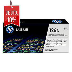 Tambor laser HP 126A preto CE314A para LaserJet Color CP1025/100 M175