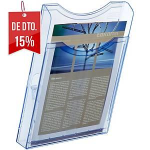 Expositor de parede Archivo 2000 - A4 - 1 compartimento - azul