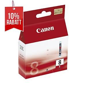 Tintenpatrone Canon BCI-8R, 490 Seiten, rot