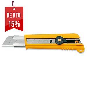 X-ato profissional Olfa NH-1 - 25mm - amarelo