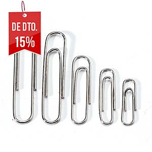 Caixa 100 clipes redondos galvanizados Kores n.º 1 1/2 - 25mm