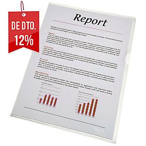 Pack de 100 dossier em pvc ESSELTE folio