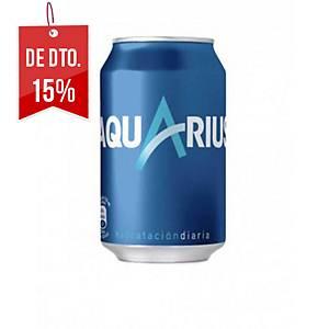 Pack de 24 latas de Aquarius limão - 33 cl