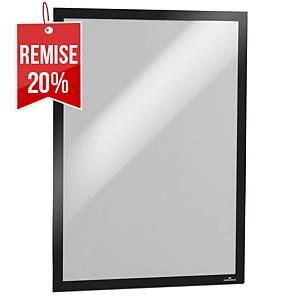 Cadre d affichage Durable Duraframe - A3 - adhésif - noir - paquet de 2