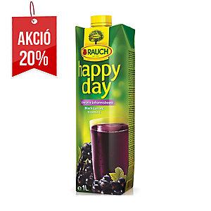 Happy Day gyümölcslé 100% fekete ribizli, 1l