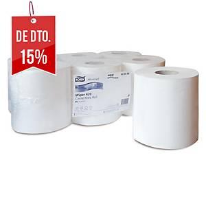 Pack 6 bobinas de toalhas de mãos Tork Advanced - 150 m - Folha dupla - branco