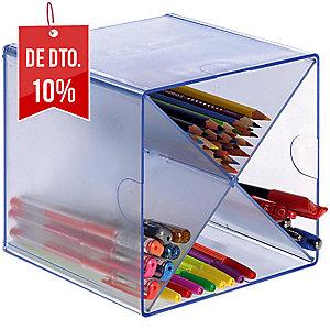módulo organizador em forma de x 152x152x152 transparente