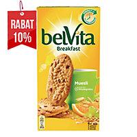 Ciastka BELVITA, musli z owocami, 24 ciasteczka