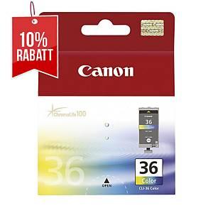 Tintenpatrone Canon CLI-36, 250 Seiten, farbig