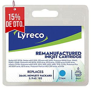 Cartucho de tinta LYRECO cian alta capacidad 364XL compatible con OJ-4620