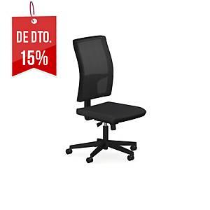 Cadeira com mecanismo sincronizado Taktik - preto