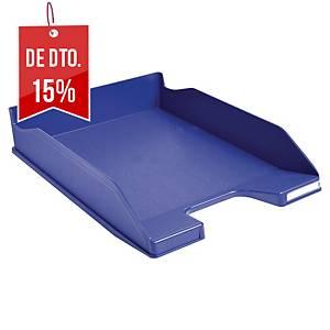 Tabuleiro de secretária Exacompta Combo - poliestireno - azul