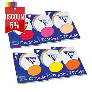 RM100 TROPHEE18760C INTCOLPAP A4 80G ASS