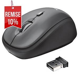 Souris sans fil Trust Yvi Wireless Mouse - noire
