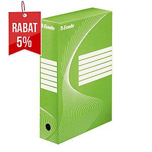 Pudełko archiwizacyjne Esselte Boxy A4 80 mm zielone