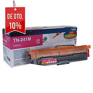 Toner laser BROTHER magenta TN-241M para HL3140CW/DCP9020CDW/DCP9140CDN/MFC9330