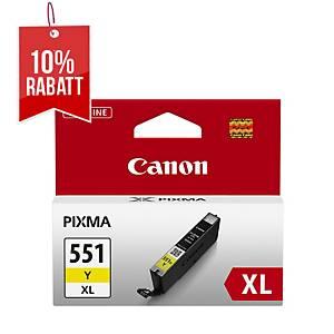 Tintenpatrone Canon CLI-551XLY, 685 Seiten, yellow