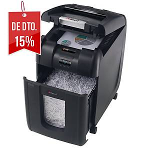 Destruidora de papel Rexel Auto+ 200X - corte em partículas DIN P-4