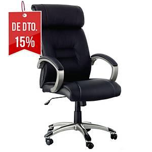 Cadeira com mecanismo basculante Archivo 2000 Pomba - preto