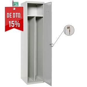 Cacifo adicional Lyreco Divisor - 2 compartimentos - 400 x 1800 - cinzento