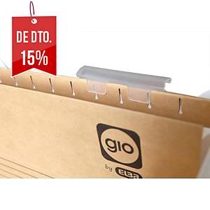 Pack 25 visores para pastas suspensas Gio By Elba