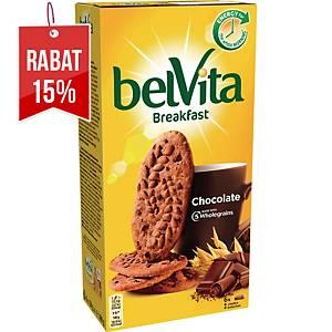 Ciastka BELVITA, kakaowe, 300 g, 24 ciasteczka