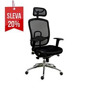 Antares Oklahoma kancelářská židle, černá