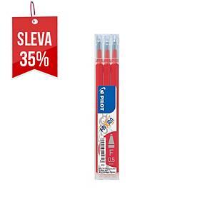 Náhradní náplň pro pero Pilot Frixion Pro 0,5 mm, červená, 3 kusy